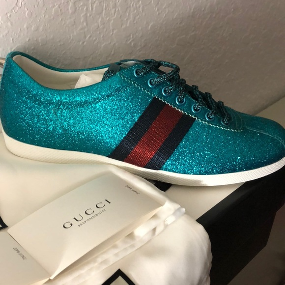 Gucci Shoes | Authentic Gucci Glitter